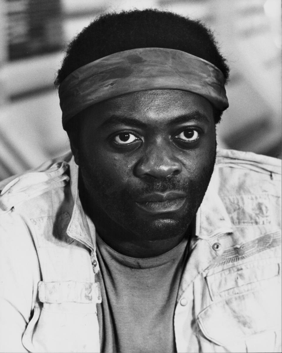 Promotional headshot of actor Yaphet Kotto, as he appears in the movie 'Alien', 1979. (Photo by Stanley Bielecki Movie Collection/Getty Images)