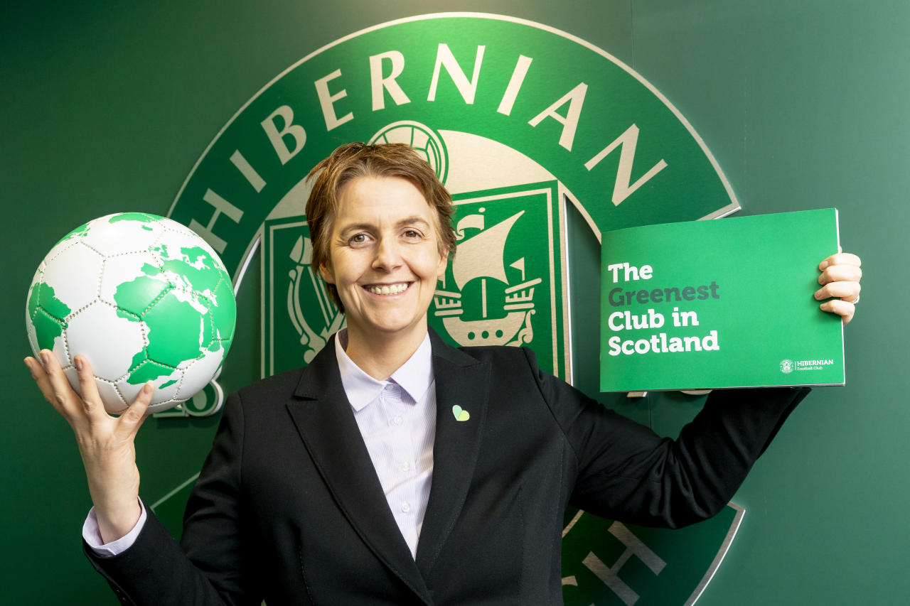 Hibernian pledge to become 'The Greenest Club in Scotland'