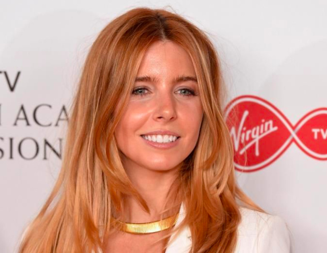 Stacey Dooley poses in the Winner's room at the Virgin TV BAFTA Television Awards at The Royal Festival Hall on May 14, 2017 in London, England. (Photo by Jeff Spicer/Getty Images)