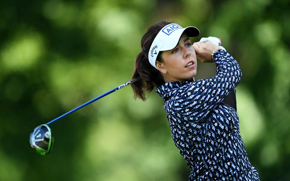 Georgia Hall fires her lowest major opening round since 2018 as fine form continues at Evian Championship - GETTY IMAGES