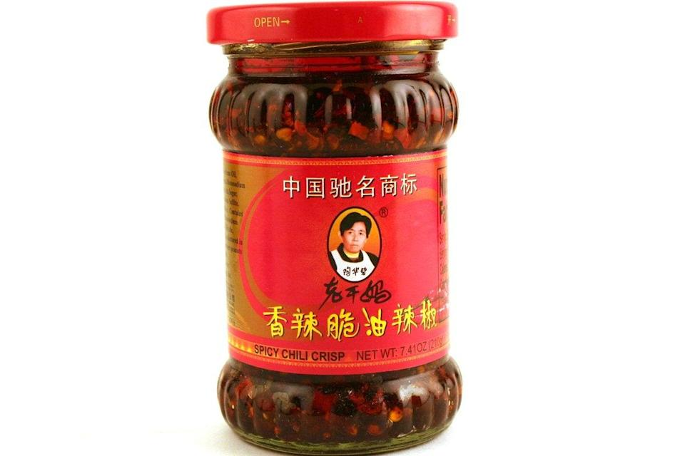 """<h3><a href=""""https://amzn.to/2SolHMF"""" rel=""""nofollow noopener"""" target=""""_blank"""" data-ylk=""""slk:Lao Gan Ma Chili Sauce"""" class=""""link rapid-noclick-resp"""">Lao Gan Ma Chili Sauce</a></h3><br><strong>Jennifer</strong><br><br><strong>How She Discovered It:</strong> """"I saw it mentioned in the <a href=""""https://loremipsum.wtf/"""" rel=""""nofollow noopener"""" target=""""_blank"""" data-ylk=""""slk:Lorem Ipsum e-newsletter"""" class=""""link rapid-noclick-resp"""">Lorem Ipsum e-newsletter</a> a year or two ago."""" <br><br><strong>Why It's A Hidden Gem:</strong> """"This stuff is amazing. I'm usually a fiend for spicy food, but this isn't spicy so much as it is crispy, salty, smoky heaven in a jar. Improves every savory thing it's added to, in my opinion.""""<br><br><strong>Lao Gan Ma</strong> Chilisauce Xiang La Cui (Pack of 3), $, available at <a href=""""https://amzn.to/2SolHMF"""" rel=""""nofollow noopener"""" target=""""_blank"""" data-ylk=""""slk:Amazon"""" class=""""link rapid-noclick-resp"""">Amazon</a>"""