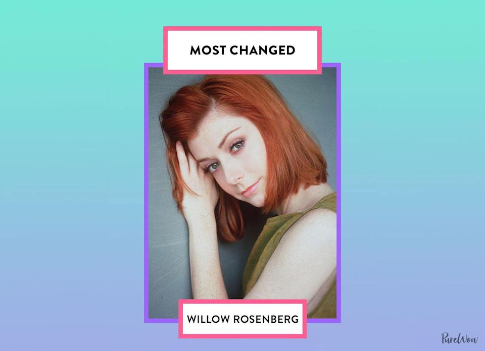 <p>Willow's growth throughout <em>Buffy</em> is simply incredible. Not only did her powers grow stronger over time, but she also became more confident as she found her voice.</p>