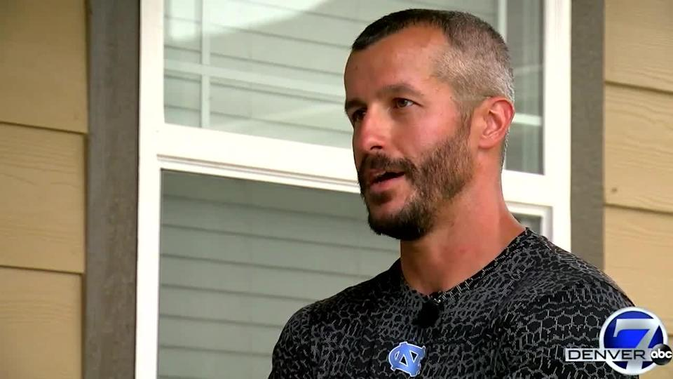 Chris Watts, 33, spoke to reporters about the disappearance of his pregnant wife and their two daughters, hours before being arrested on suspicion of their deaths.