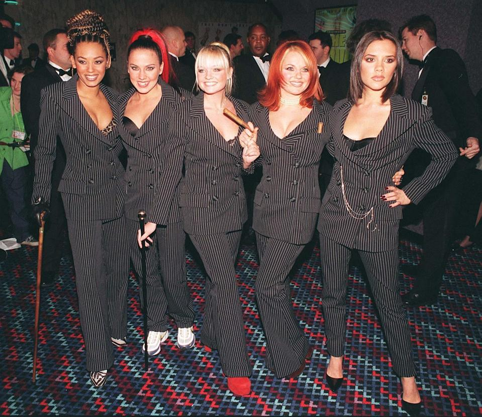The Spice Girls (Credit: PA)