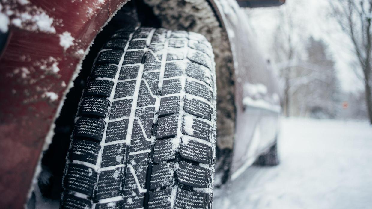 car with all weather tires