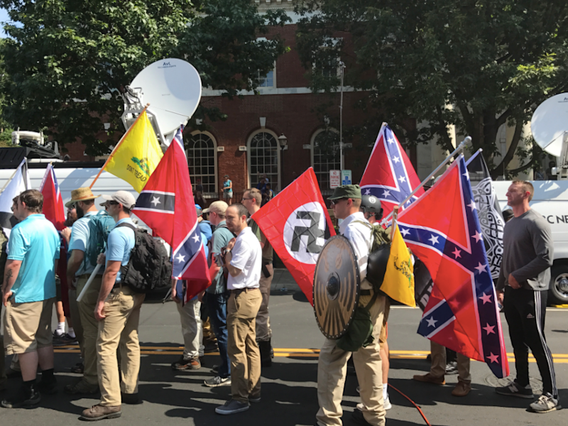 Data Shows White Supremacist Propaganda on College Campuses Tripled in 2017