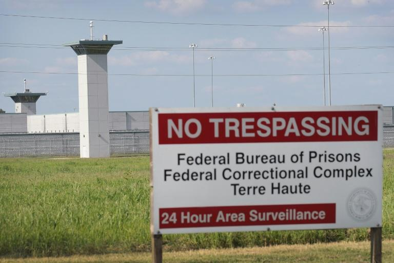 Terre Haute prison in Indiana, where Montgomery faces execution