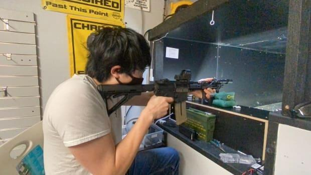 Davis guesses there are more than 300 individual small businesses that rely on airsoft as part of their business model, like the one pictured here in Waterloo.