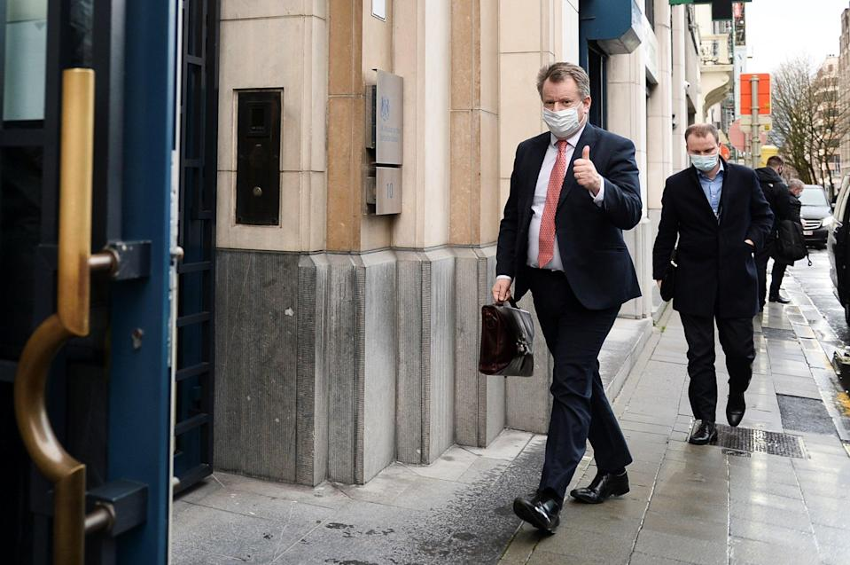 <p>Brexit minister Lord Frost</p> (REUTERS)