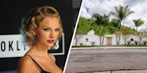 "<p>Taylor Swift is known for her portfolio of <a href=""https://www.elledecor.com/celebrity-style/celebrity-homes/g21792583/taylor-swift-house-home/"" rel=""nofollow noopener"" target=""_blank"" data-ylk=""slk:incredible homes"" class=""link rapid-noclick-resp"">incredible homes</a>. One of the most impressive properties she's owned is a Beverly Hills ranch that embodies the aesthetic of 1950's mid-century modern Hollywood designs. The airy home, which has floor-to-ceiling glass, features four bedrooms and four bathrooms. But that's not all it has to offer. One of its most luxurious amenities is a 1000-bottle, climate-controlled wine cellar. As stunning as the home was, Swift decided to list in May of 2018. It sold for $2.65 million in September.</p>"
