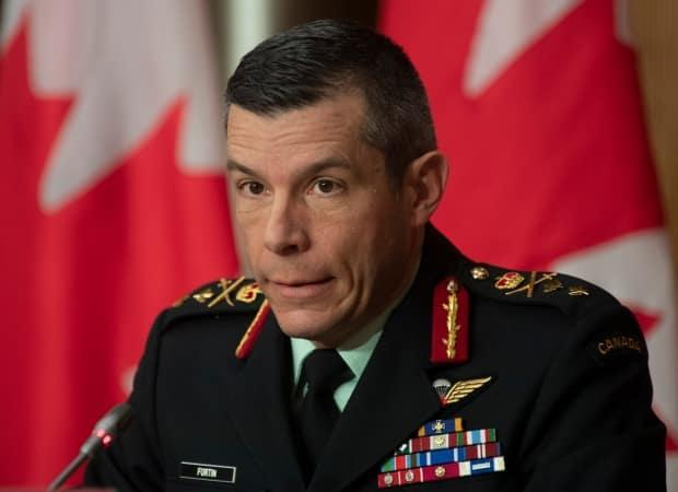Maj.-Gen. Dany Fortin insists Canada's vaccine rollout is on the