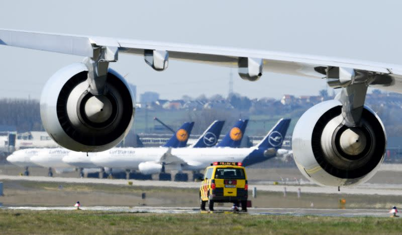 Lufthansa to get financial support from Switzerland and Austria