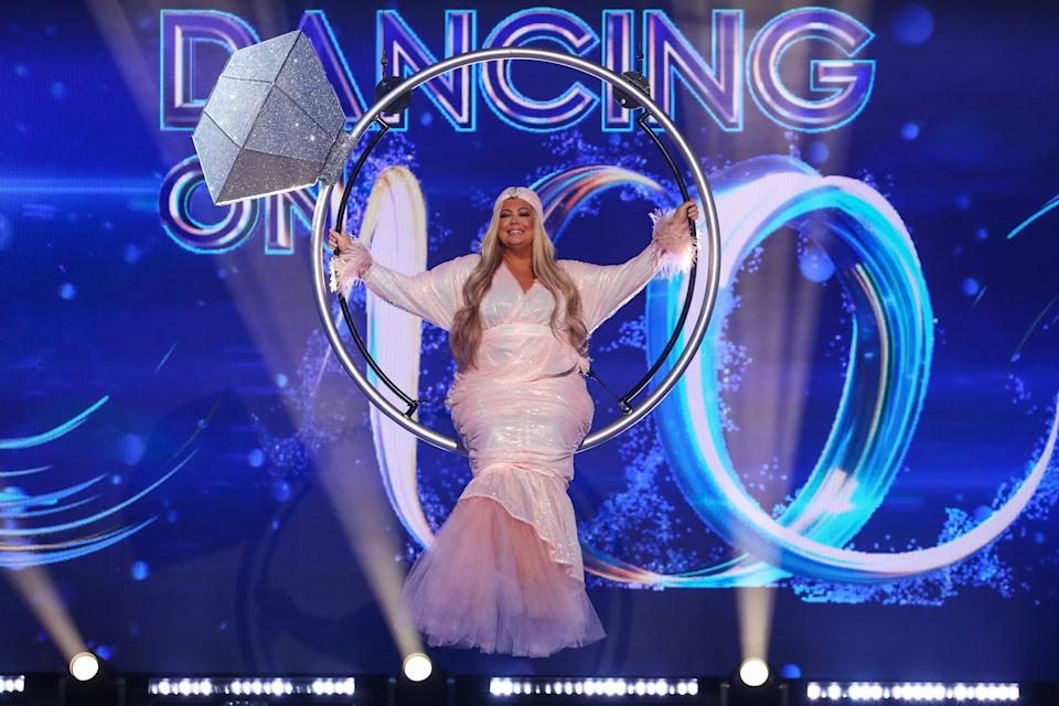 Gemma Collins at Dancing On Ice
