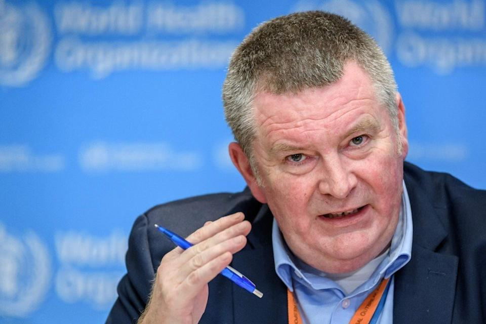 WHO Health Emergencies Programme Director Michael Ryan says all hypotheses are on the table. Photo: AFP