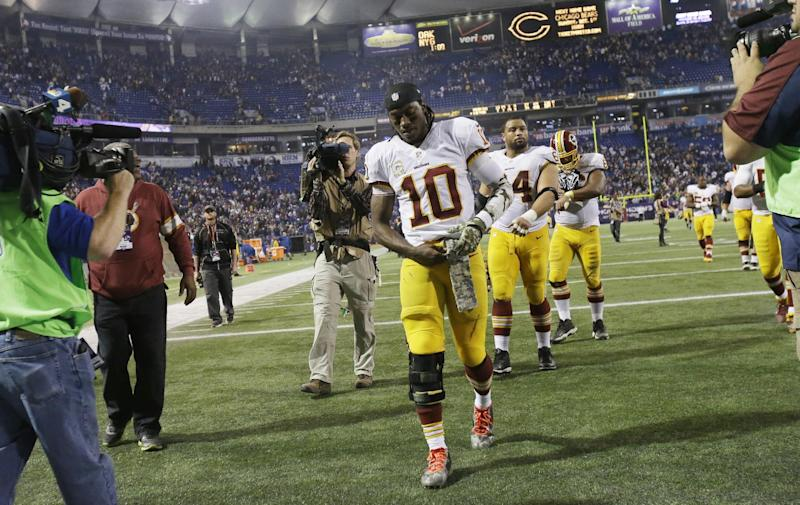Griffin reflects on trying Redskins season