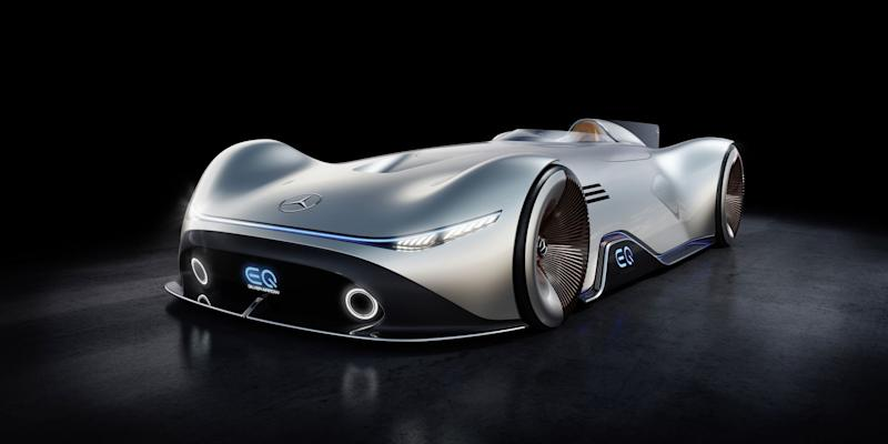 Mercedes-Benz EQ Silver Arrow Evokes The Past With Future Tech