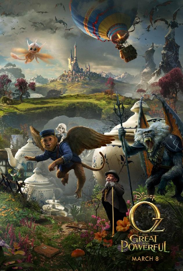 """<span style=""""font-size:10.5pt;color:black;"""">Get a deeper look at the world of Oz in this second of three panels from Walt Disney Pictures' """"<a href=""""http://movies.yahoo.com/movie/oz-the-great-and-powerful/"""">Oz The Great and Powerful</a>"""" (2013). Tune in next week for the final reveal.<br></span><span style=""""font-size:10.5pt;color:black;""""> </span>"""