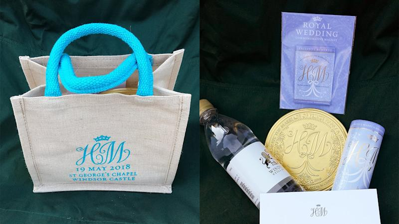 Royal Wedding Gift Bag and Goodies