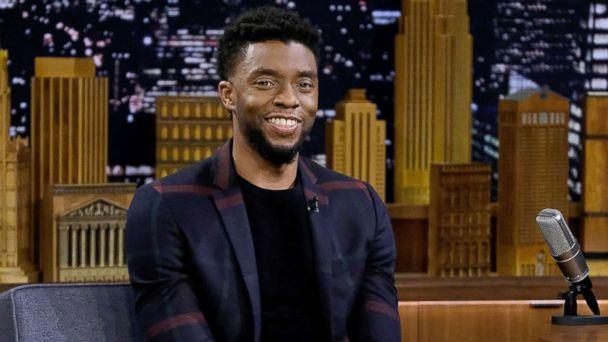 PHOTO: Chadwick Boseman visits 'The Tonight Show Starring Jimmy Fallon' at Rockefeller Center, Feb. 28, 2018 in New York City. (Jamie McCarthy/Getty Images)