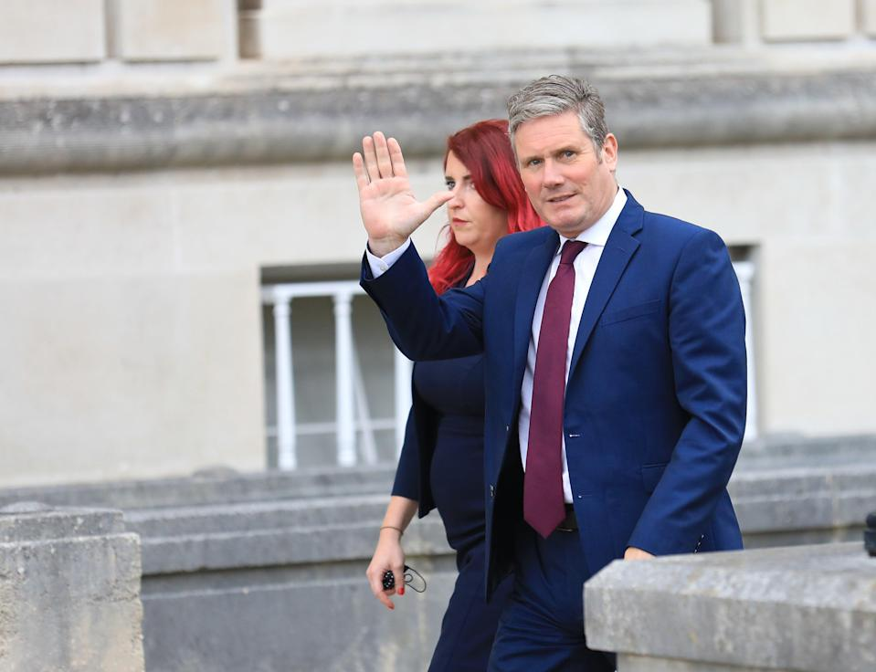 Labour Party leader Sir Keir Starmer is due to embark on a summer tour of Britain (Peter Morrison/PA) (PA Wire)