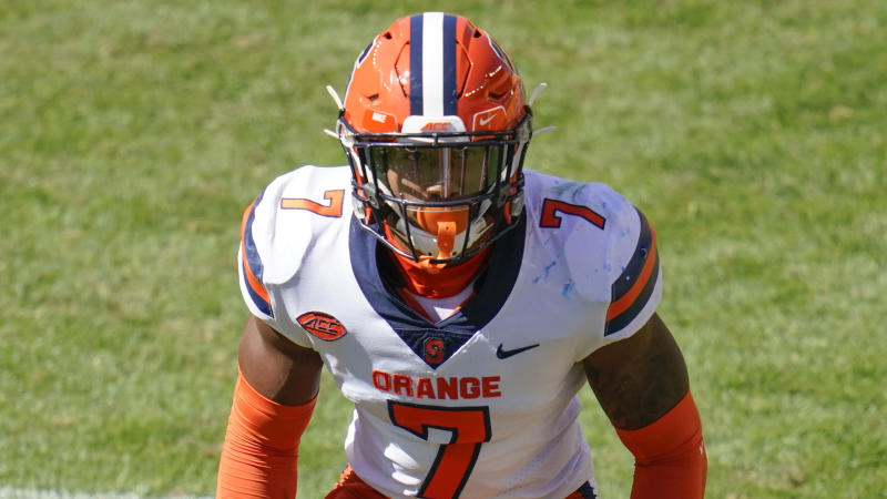 Syracuse safety Andre Cisco is one of the best ballhawks in the country. (AP Photo/Keith Srakocic)