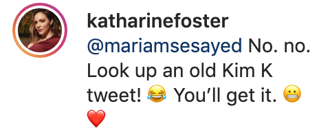 Katharine McPhee says she stole a move from Kim Kardashian's playbook. (Screenshot: Katharine McPhee via Instagram)