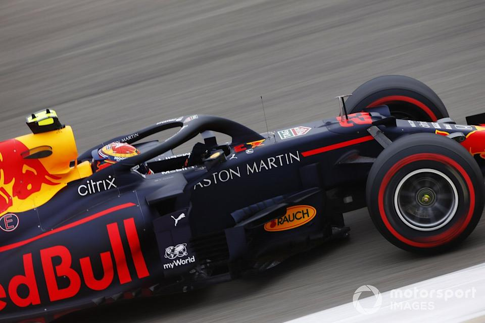 """Alex Albon, Red Bull Racing RB16<span class=""""copyright"""">Andy Hone / Motorsport Images</span>"""