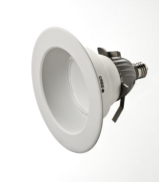 Cree's CR6 LED Energy Star certified downlight powered by Cree TrueWhite technology.