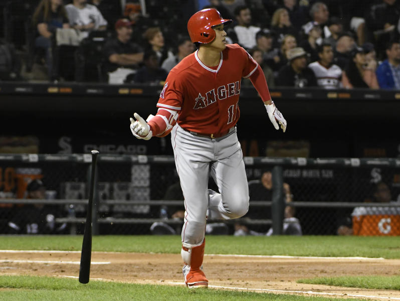 Despite elbow diagnosis, the Angels' Shohei Ohtani still has plenty of power