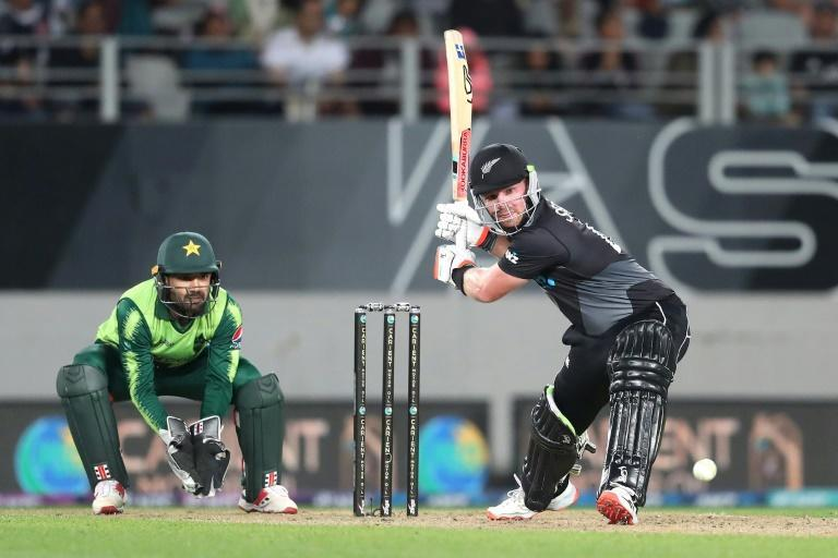 Tim Seifert top-scored for the Black Caps with 57