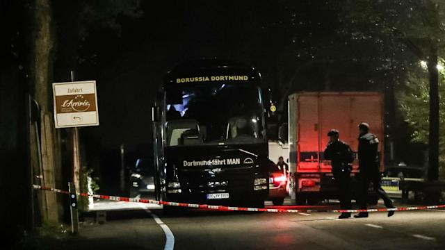 The Federal Prosecutor's office in Germany said an arrest has been made in relation to the attack on Borussia Dortmund's team bus.