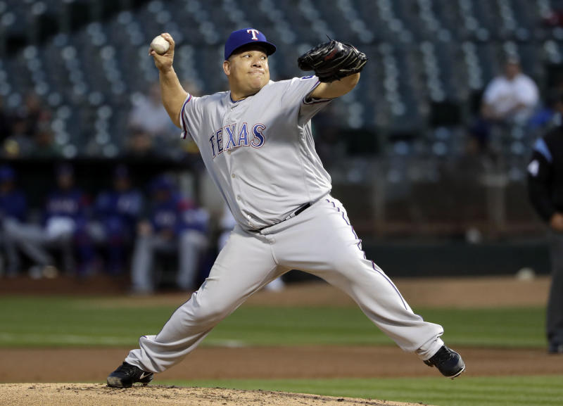 Bartolo Colón flirted with a perfect game against the Astros on Sunday (AP Photo)