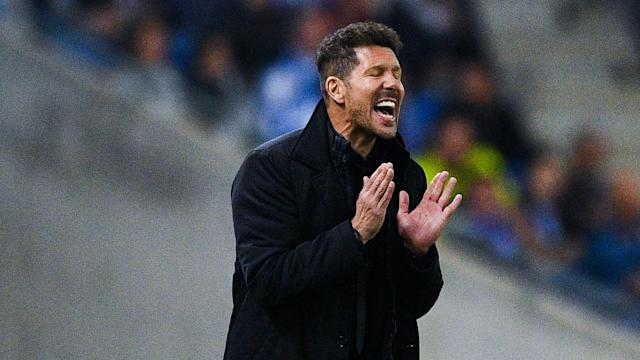 "The Atletico boss praised his players' decisiveness ahead of matches against ""some tough opponents"""