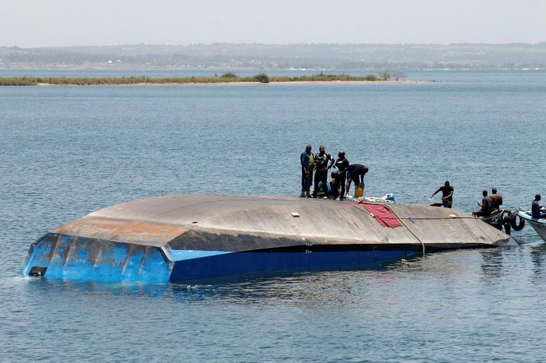 The sinking of the MV Nyerere in Tanzanian waters left 228 dead two weeks ago
