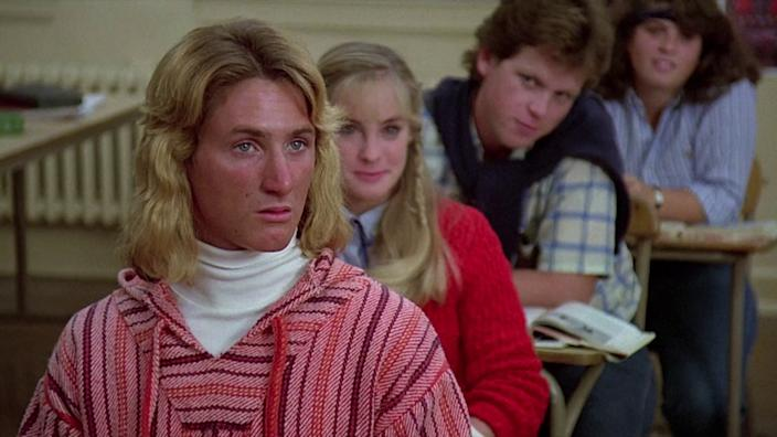 Penn as Spicoli in Fast Times At Ridgemont High (Credit: Universal)