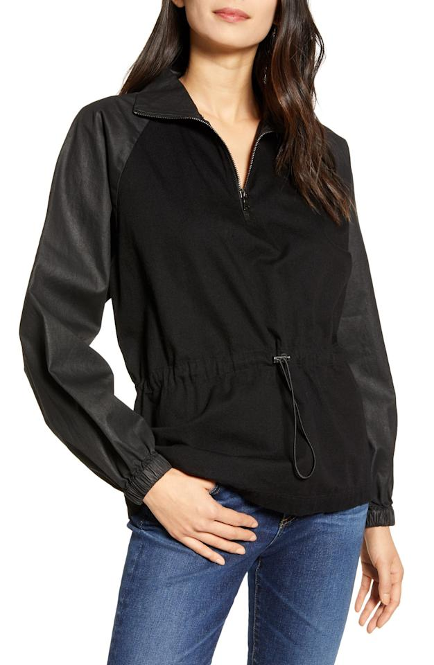 """<p>A waterproof jacket, typically with a hood, inspired by those worn in polar regions.</p> <p><a href=""""https://www.popsugar.com/buy/AG-Kazuko-Raglan-Sleeve-Anorak-521320?p_name=AG%20Kazuko%20Raglan%20Sleeve%20Anorak&retailer=shop.nordstrom.com&pid=521320&price=218&evar1=fab%3Aus&evar9=35813278&evar98=https%3A%2F%2Fwww.popsugar.com%2Ffashion%2Fphoto-gallery%2F35813278%2Fimage%2F45374839%2FAnorak&list1=shopping%2Cfall%20fashion%2Ccoats%2Cfall%2Cjackets%2Cwinter%2Cget%20the%20look%2Couterwear%2Cwinter%20fashion%2Cultimate%20guide&prop13=mobile&pdata=1"""" rel=""""nofollow"""" data-shoppable-link=""""1"""" target=""""_blank"""" class=""""ga-track"""" data-ga-category=""""Related"""" data-ga-label=""""https://shop.nordstrom.com/s/ag-kazuko-raglan-sleeve-anorak/5485975/full?origin=category-personalizedsort&amp;breadcrumb=Home%2FWomen%2FClothing%2FCoats%2C%20Jackets%20%26%20Blazers&amp;color=shadow%20beyond"""" data-ga-action=""""In-Line Links"""">AG Kazuko Raglan Sleeve Anorak</a> ($218)</p>"""