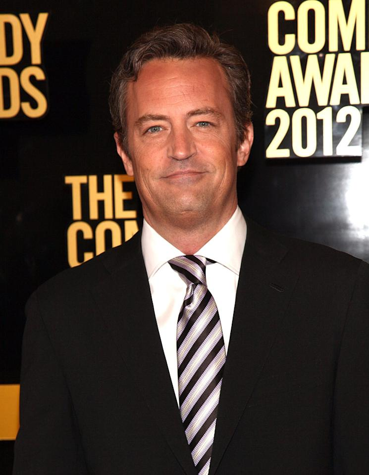 Matthew Perry attends The Comedy Awards 2012 at Hammerstein Ballroom on April 28, 2012 in New York City.