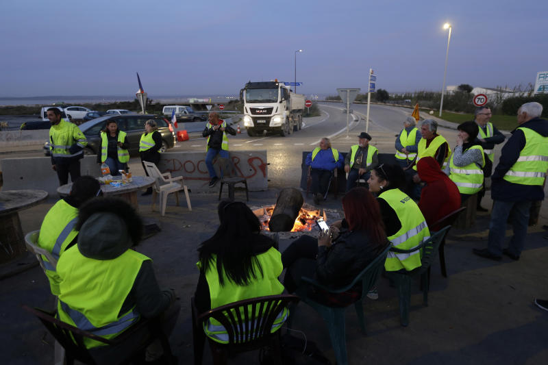 The Latest: French protests ahead despite Macron concession