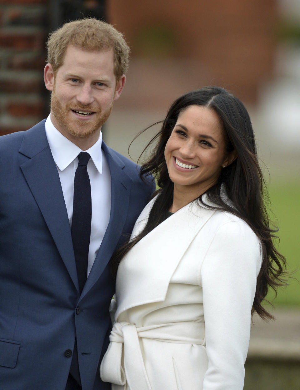 His Royal Highness Prince Harry Of Wales and Meghan Markle announce their engagement. (Photo: Getty Images)