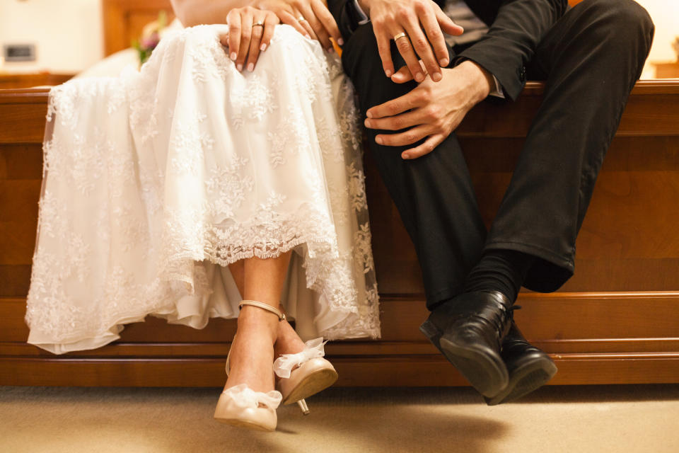 The wedding night is supposed to be memorable, but for one bride it was for the wrong reasons [Photo: Getty]