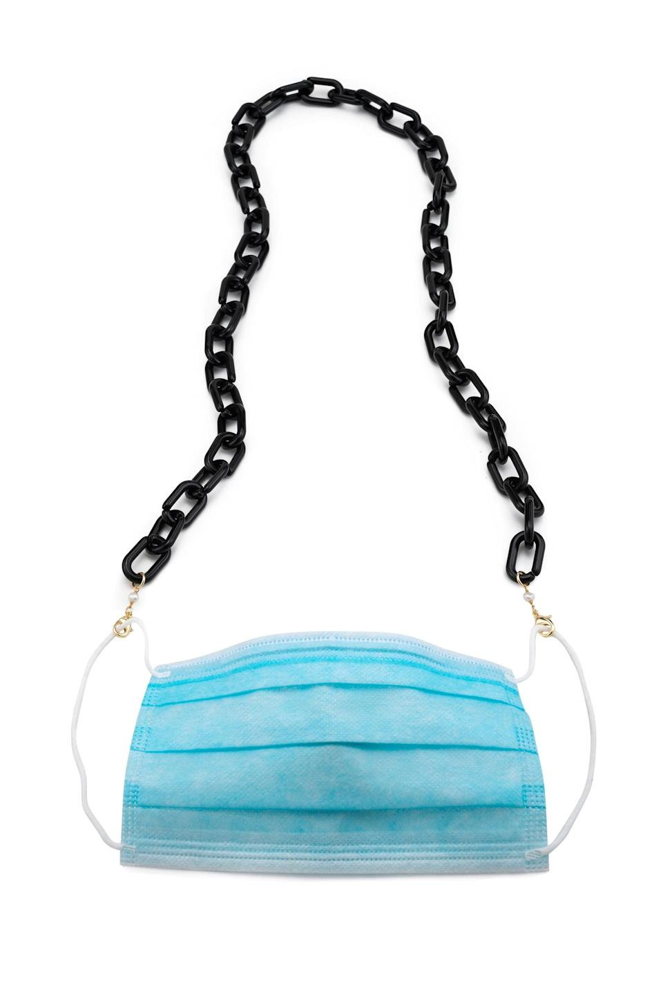 <p><span>Donni Acetate Mask/Sunny Chain</span> ($88)</p>