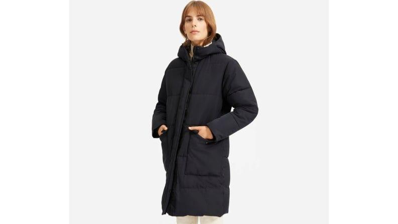 This parka keeps you warm and stylish.