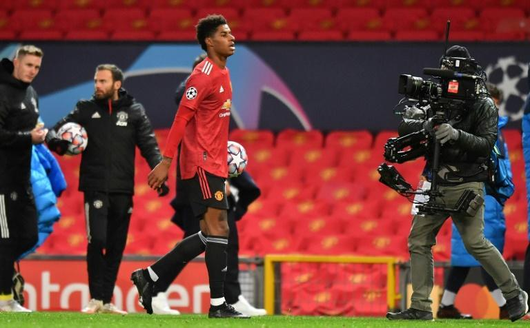 Marcus Rashford is attracting attention on and off the pitch