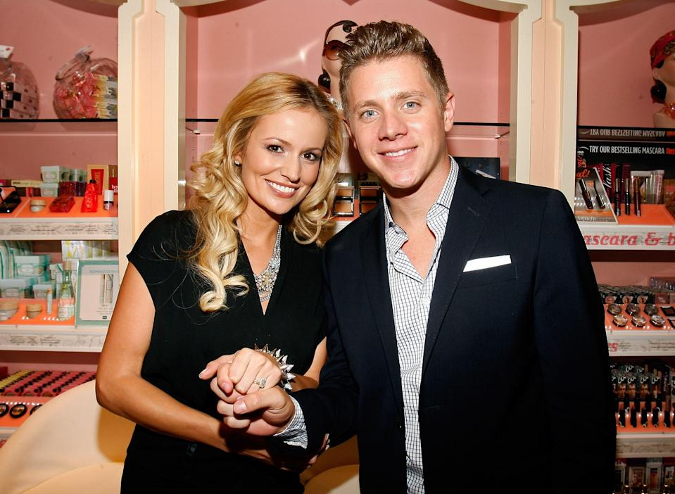 """<h1 class=""""title"""">Emily Maynard Hosts Benefit Cosmetics Beauty Best Or Bust Party At Macy's</h1><cite class=""""credit"""">Mike Lawrie/Getty Images for Benefit Cosmetics</cite>"""