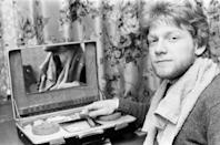 Kenneth Branagh, actor and student, aged 18 years old, he will be attending the Royal Academy of Dramatic Art, RADA, pictured January 1979. (Photo by Reading Post/Mirrorpix/Getty Images)