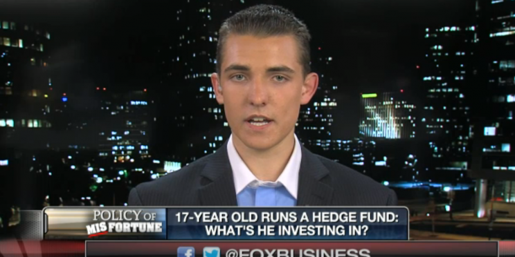 Jacob Wohl appeared on Fox Business Network shortly after the KTLA story