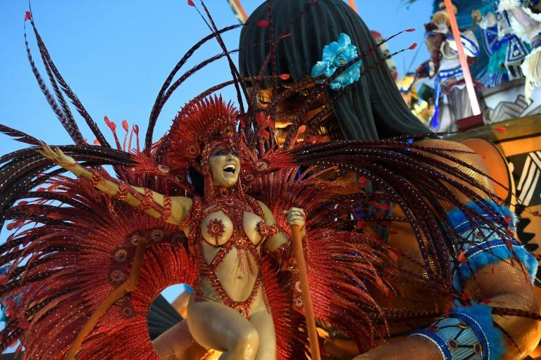 Rio's carnival, the world's biggest, draws millions of tourists from around Brazil and the world each year