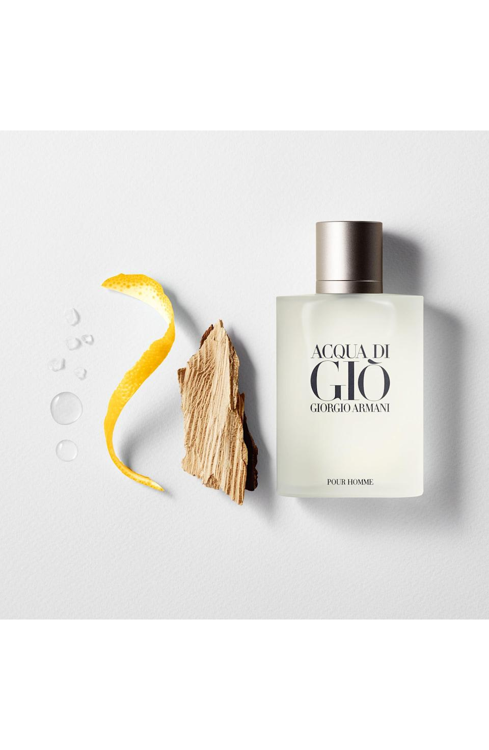 """<p><strong>GIORGIO ARMANI</strong></p><p>nordstrom.com</p><p><strong>$50.00</strong></p><p><a href=""""https://go.redirectingat.com?id=74968X1596630&url=https%3A%2F%2Fshop.nordstrom.com%2Fs%2Facqua-di-gio-pour-homme-eau-de-toilette%2F2833888&sref=https%3A%2F%2Fwww.goodhousekeeping.com%2Fholidays%2Ffathers-day%2Fg21205637%2Ffathers-day-gifts-for-grandpa%2F"""" rel=""""nofollow noopener"""" target=""""_blank"""" data-ylk=""""slk:Shop Now"""" class=""""link rapid-noclick-resp"""">Shop Now</a></p><p>The brand describes the scent as """"pure freshness and warmth of the Mediterranean sea,"""" while reviewers say it's a """"well-balanced"""" scent. Bottles start at $50.</p>"""