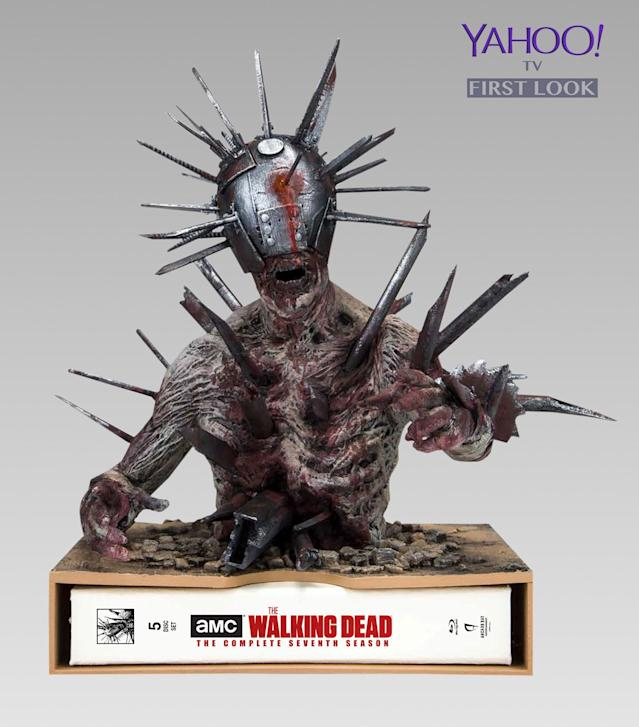 'The Walking Dead' Limited Edition Spike Walker Statue set