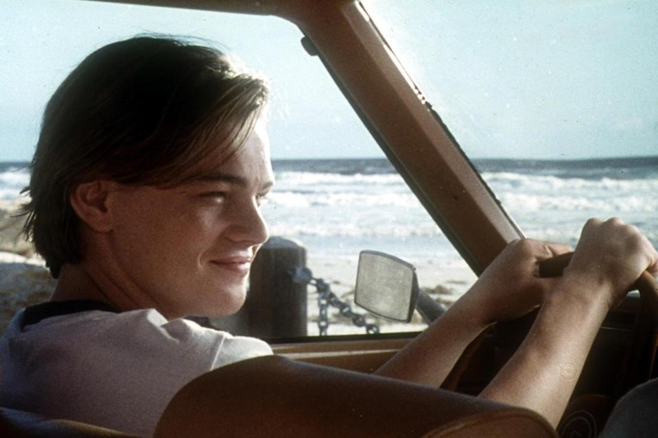 """<p>In his final pre-<i>Titanic</i> film, the burgeoning star plays troubled juvenile Hank Lacker and is surrounded by veteran stars like <a href=""""https://ew.com/tag/meryl-streep/"""" rel=""""nofollow noopener"""" target=""""_blank"""" data-ylk=""""slk:Meryl Streep"""" class=""""link rapid-noclick-resp"""">Meryl Streep</a>, <a href=""""https://ew.com/tag/diane-keaton/"""" rel=""""nofollow noopener"""" target=""""_blank"""" data-ylk=""""slk:Diane Keaton"""" class=""""link rapid-noclick-resp"""">Diane Keaton</a>, and <a href=""""https://ew.com/tag/robert-de-niro/"""" rel=""""nofollow noopener"""" target=""""_blank"""" data-ylk=""""slk:Robert De Niro"""" class=""""link rapid-noclick-resp"""">Robert De Niro</a>. And it's working opposite his Oscar-winning scene partners, whether arguing with Streep or bonding with Keaton, that he shows he belongs.</p> <p><b>Related: </b><a href=""""https://ew.com/article/1996/12/20/marvins-room/"""" rel=""""nofollow noopener"""" target=""""_blank"""" data-ylk=""""slk:Marvin's Room — EW review"""" class=""""link rapid-noclick-resp""""><i>Marvin's Room —</i> EW review</a></p>"""